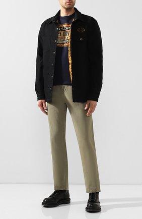 Мужская джинсовая куртка genuine motorclothes HARLEY-DAVIDSON черного цвета, арт. 96305-20VM | Фото 2