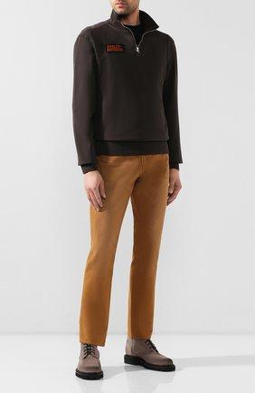 Мужской хлопковый джемпер 1903 HARLEY-DAVIDSON темно-коричневого цвета, арт. 96137-20VM | Фото 2