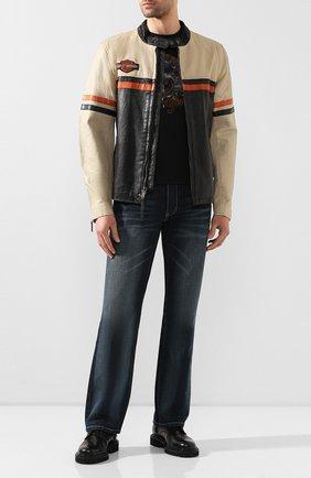Мужская кожаная куртка 1903 HARLEY-DAVIDSON разноцветного цвета, арт. 97013-20VM | Фото 2