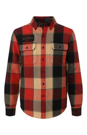 Мужская хлопковая рубашка 1903 HARLEY-DAVIDSON разноцветного цвета, арт. 99259-19VM | Фото 1