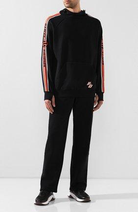 Мужской хлопковые брюки genuine motorclothes HARLEY-DAVIDSON черного цвета, арт. 96128-18VM | Фото 2