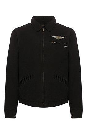 Мужская хлопковая куртка 1903 HARLEY-DAVIDSON черного цвета, арт. 96691-19VM | Фото 1