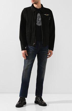 Мужская хлопковая куртка 1903 HARLEY-DAVIDSON черного цвета, арт. 96691-19VM | Фото 2