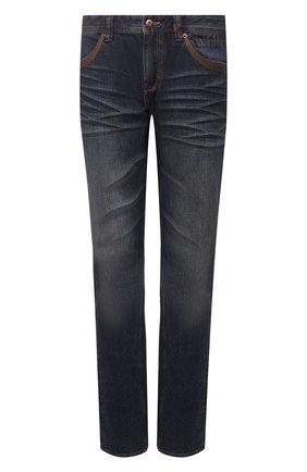Мужские джинсы genuine motorclothes HARLEY-DAVIDSON синего цвета, арт. 96523-17VM | Фото 1