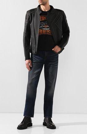 Мужские джинсы genuine motorclothes HARLEY-DAVIDSON синего цвета, арт. 96523-17VM | Фото 2