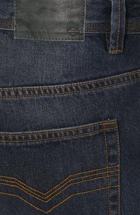 Мужские джинсы genuine motorclothes HARLEY-DAVIDSON синего цвета, арт. 96523-17VM | Фото 5 (Силуэт М (брюки): Прямые; Длина (брюки, джинсы): Стандартные; Материал внешний: Хлопок)