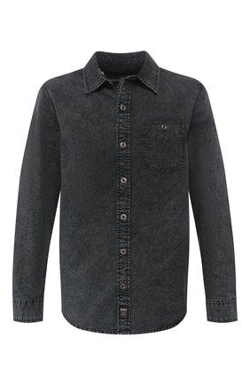 Мужская хлопковая рубашка black label HARLEY-DAVIDSON черного цвета, арт. 96486-16VM | Фото 1