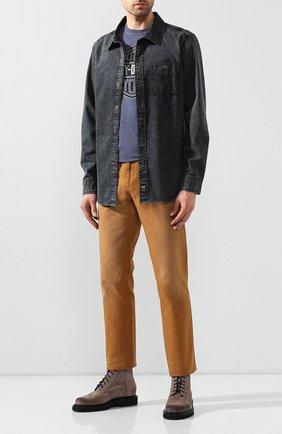 Мужская хлопковая рубашка black label HARLEY-DAVIDSON черного цвета, арт. 96486-16VM | Фото 2