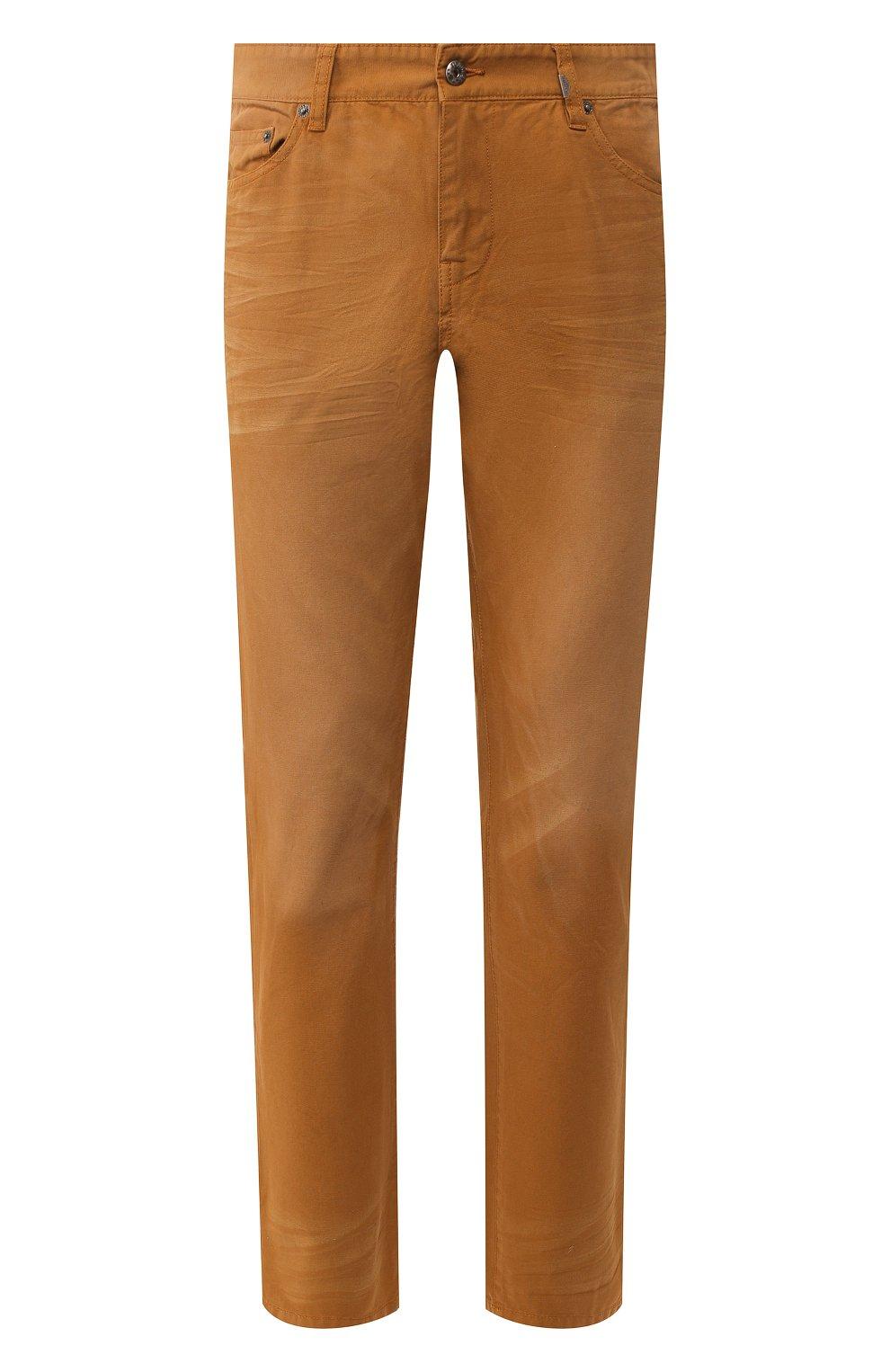 Мужские джинсы genuine motorclothes HARLEY-DAVIDSON светло-коричневого цвета, арт. 96467-16VM | Фото 1