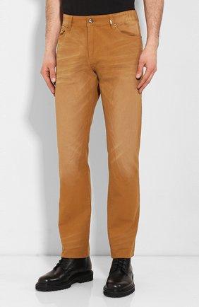 Мужские джинсы genuine motorclothes HARLEY-DAVIDSON светло-коричневого цвета, арт. 96467-16VM | Фото 3