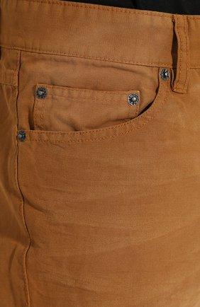 Мужские джинсы genuine motorclothes HARLEY-DAVIDSON светло-коричневого цвета, арт. 96467-16VM | Фото 5
