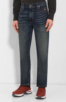 Мужские джинсы genuine motorclothes HARLEY-DAVIDSON синего цвета, арт. 99068-20VM | Фото 3