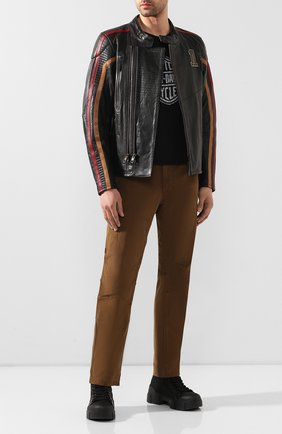 Мужская кожаная куртка garage HARLEY-DAVIDSON черного цвета, арт. 98001-20VM | Фото 2