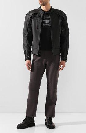 Мужская хлопковая футболка exclusive for moscow HARLEY-DAVIDSON черного цвета, арт. R003472 | Фото 2