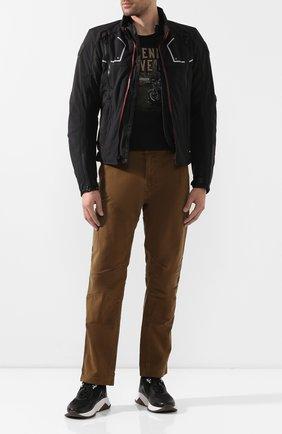 Мужская хлопковая футболка exclusive for moscow HARLEY-DAVIDSON черного цвета, арт. R003444 | Фото 2