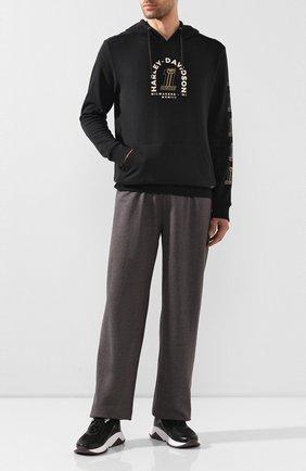 Мужской домашние брюки genuine motorclothes HARLEY-DAVIDSON темно-серого цвета, арт. 97625-16VM | Фото 2