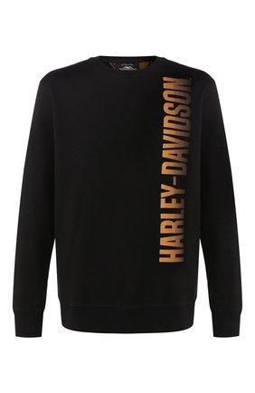 Мужской свитшот 1903 HARLEY-DAVIDSON черного цвета, арт. 96160-20VM | Фото 1