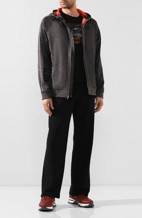 Мужская толстовка genuine motorclothes HARLEY-DAVIDSON темно-серого цвета, арт. 96057-20VM | Фото 2