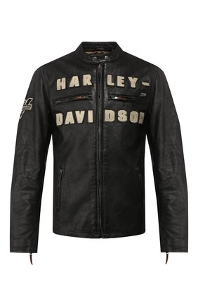 Мужская кожаная куртка 1903 HARLEY-DAVIDSON черного цвета, арт. 97000-20VM | Фото 1