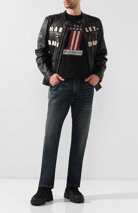 Мужская кожаная куртка 1903 HARLEY-DAVIDSON черного цвета, арт. 97000-20VM | Фото 2