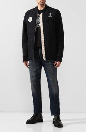 Мужская хлопковая куртка garage HARLEY-DAVIDSON черного цвета, арт. 97472-19VM | Фото 2