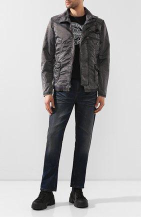 Мужская куртка black label HARLEY-DAVIDSON серого цвета, арт. 97593-16VM | Фото 2