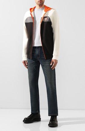 Мужская хлопковая футболка exclusive for moscow HARLEY-DAVIDSON серого цвета, арт. R003086 | Фото 2