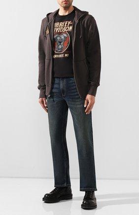 Мужская толстовка 1903 HARLEY-DAVIDSON темно-коричневого цвета, арт. 96287-20VH | Фото 2