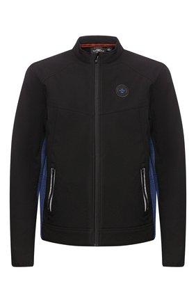 Мужская куртка genuine motorclothes HARLEY-DAVIDSON черного цвета, арт. 97505-19VM | Фото 1