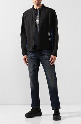 Мужская куртка genuine motorclothes HARLEY-DAVIDSON черного цвета, арт. 97505-19VM | Фото 2