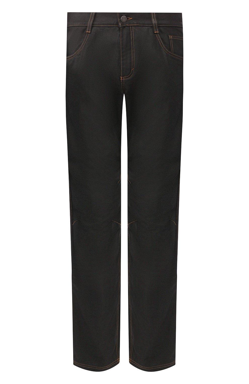 Мужские джинсы genuine motorclothes HARLEY-DAVIDSON черного цвета, арт. 98167-17EM | Фото 1