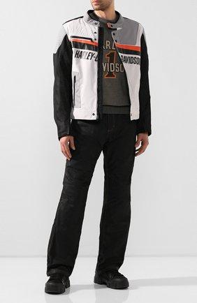 Мужские джинсы genuine motorclothes HARLEY-DAVIDSON черного цвета, арт. 98167-17EM | Фото 2