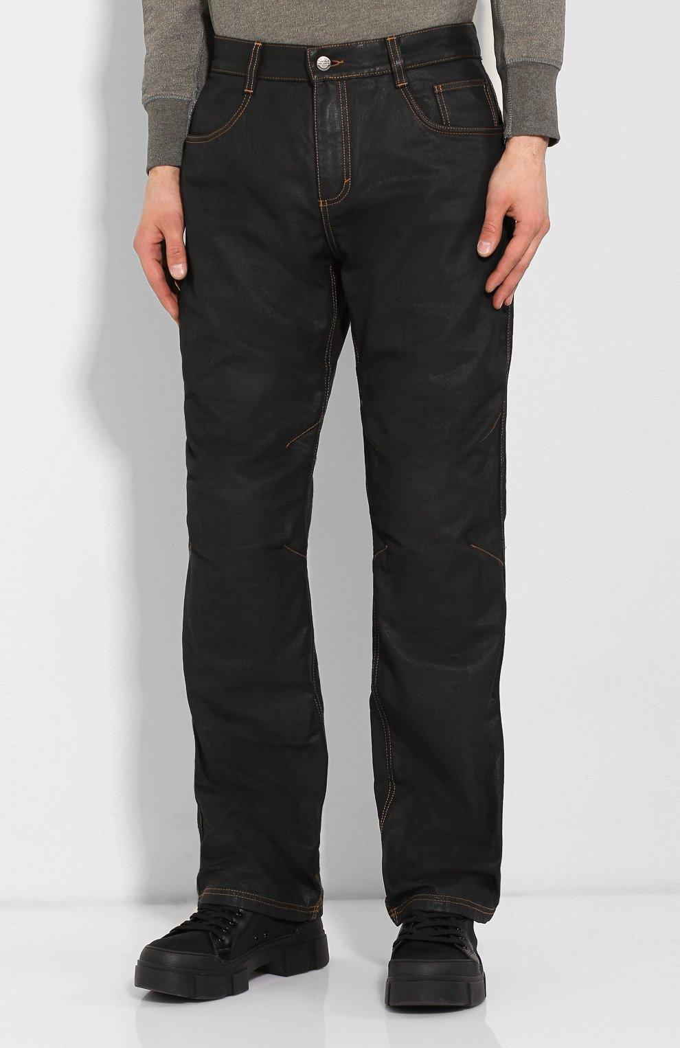 Мужские джинсы genuine motorclothes HARLEY-DAVIDSON черного цвета, арт. 98167-17EM | Фото 3