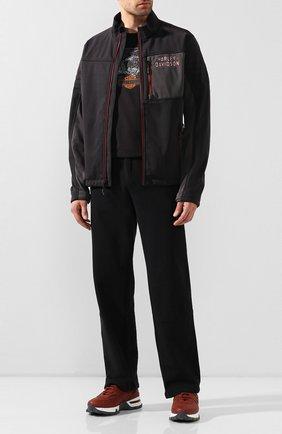 Мужская куртка genuine motorclothes HARLEY-DAVIDSON темно-серого цвета, арт. 97423-17VM | Фото 2