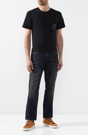 Мужская хлопковая футболка exclusive for moscow HARLEY-DAVIDSON черного цвета, арт. R003469   Фото 2