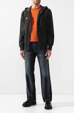 Мужская хлопковая толстовка genuine motorclothes HARLEY-DAVIDSON черного цвета, арт. 99099-20VM | Фото 2