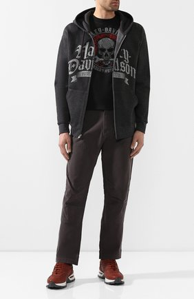 Мужская толстовка exclusive for moscow HARLEY-DAVIDSON темно-серого цвета, арт. R003629 | Фото 2