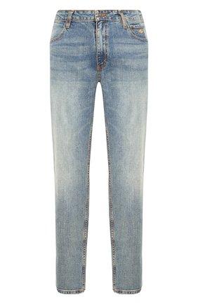 Мужские джинсы genuine motorclothes HARLEY-DAVIDSON синего цвета, арт. 99053-18VM | Фото 1