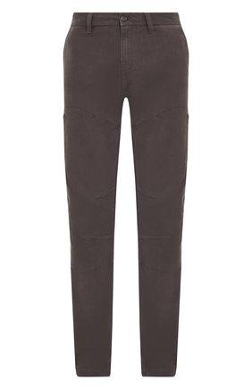 Мужской хлопковые брюки genuine motorclothes HARLEY-DAVIDSON темно-серого цвета, арт. 99055-18VM | Фото 1