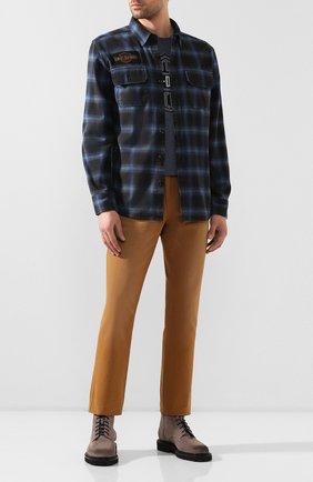 Мужская хлопковая рубашка 1903 HARLEY-DAVIDSON синего цвета, арт. 99258-19VM | Фото 2