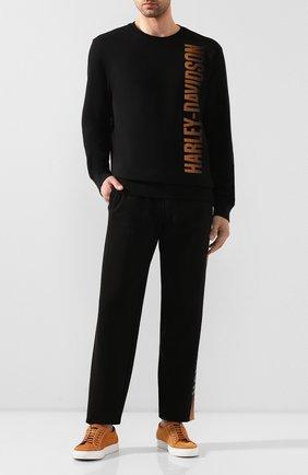 Мужской брюки 1903 HARLEY-DAVIDSON черного цвета, арт. 96151-20VM | Фото 2