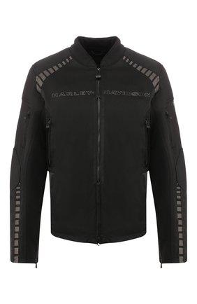 Мужская куртка h-d moto HARLEY-DAVIDSON черного цвета, арт. 98391-19EM | Фото 1