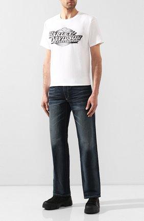 Мужские джинсы genuine motorclothes HARLEY-DAVIDSON синего цвета, арт. 96046-15VM | Фото 2