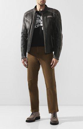 Мужская хлопковая футболка exclusive for moscow HARLEY-DAVIDSON черного цвета, арт. R003466 | Фото 2