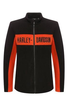 Мужская куртка genuine motorclothes HARLEY-DAVIDSON черного цвета, арт. 99087-20VM | Фото 1