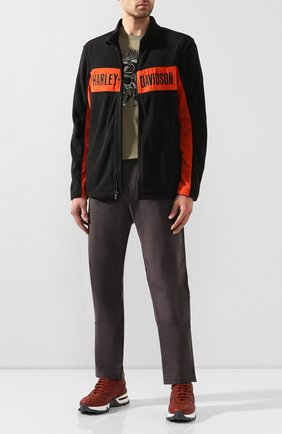 Мужская куртка genuine motorclothes HARLEY-DAVIDSON черного цвета, арт. 99087-20VM | Фото 2