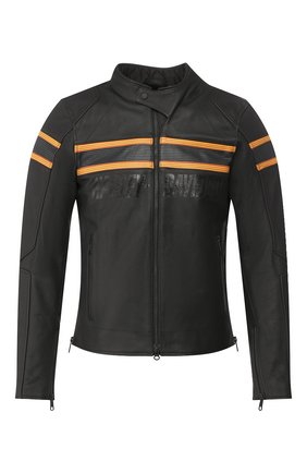 Мужская кожаная куртка genuine motorclothes HARLEY-DAVIDSON черного цвета, арт. 98007-20EM | Фото 1