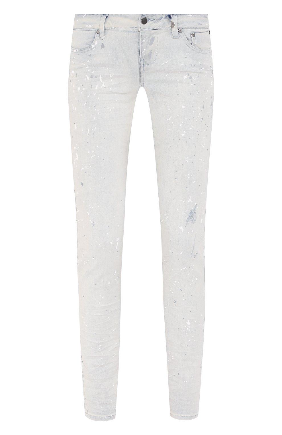Женские джинсы black label HARLEY-DAVIDSON белого цвета, арт. 96375-16VW | Фото 1