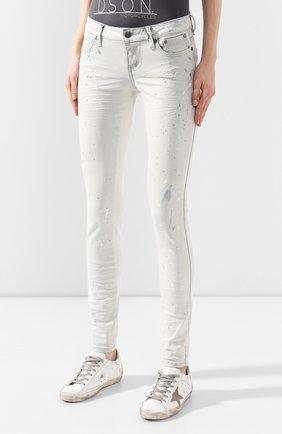 Женские джинсы black label HARLEY-DAVIDSON белого цвета, арт. 96375-16VW | Фото 3