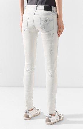 Женские джинсы black label HARLEY-DAVIDSON белого цвета, арт. 96375-16VW | Фото 4